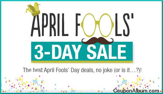 6pm april fools 3 day sale