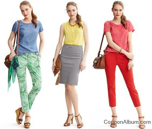 banana republic spring fashion