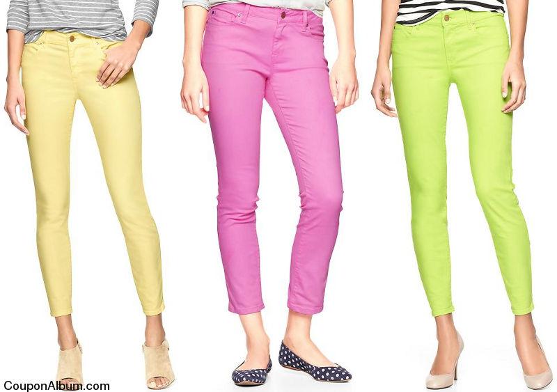 gap spring jeans