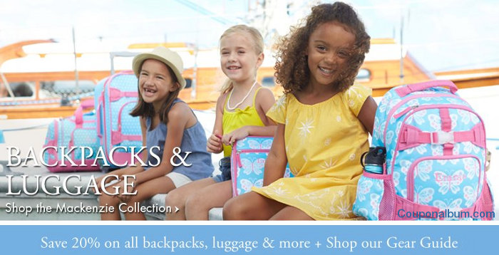 pottery barn kids backpacks offer