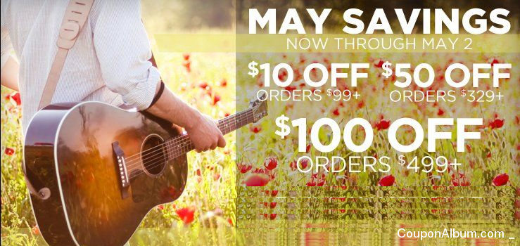 Musicians Friend May Savings