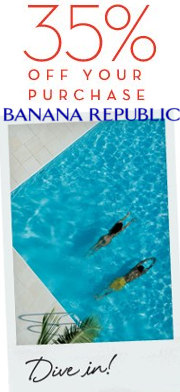 banana republic summer savings