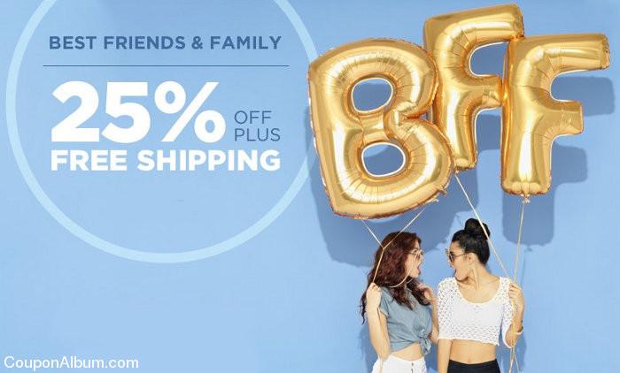 best friends & family sale