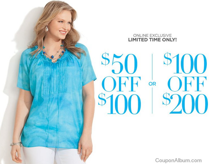 catherines online coupons