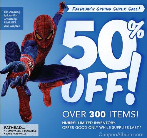 fathead spring super sale