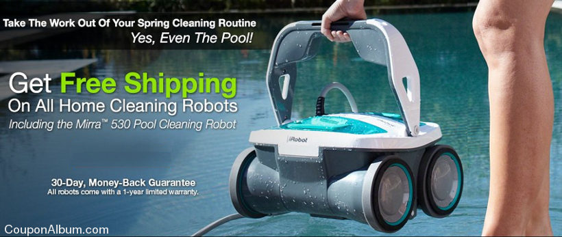 irobot free shipping coupon