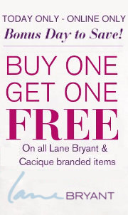 lane bryant bogo offer