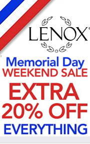 lenox memorial day sale