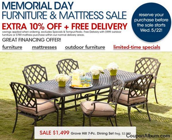 macys memorial day furniture sale