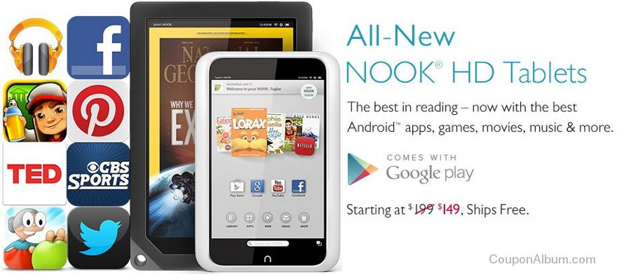 mothers day nook hd deals