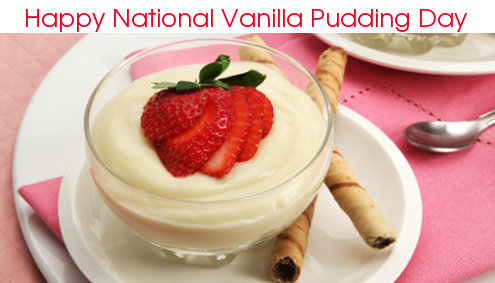 vanilla pudding day