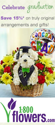 1800flowers graduation gifts