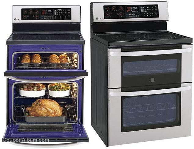 lg lde3037st double oven electric range