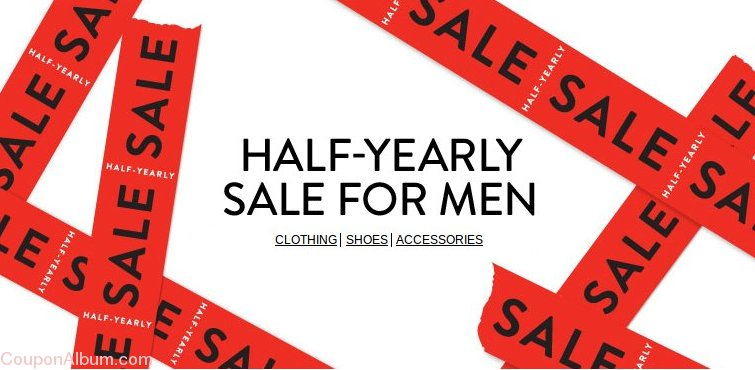 nordstrom half yearly men sale