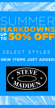 steve madden summer sale