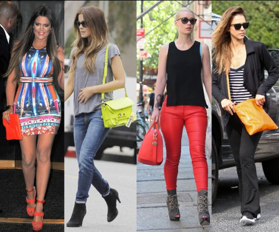 summer 2013 handbag color trends