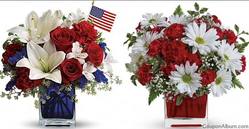 teleflora july 4th flowers