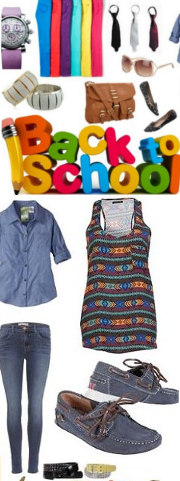 back to school fashion 2013