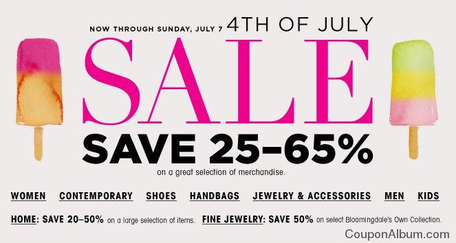 bloomingdales 4th of july sale