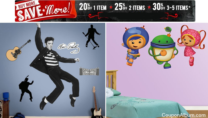 fathead shop more save more event