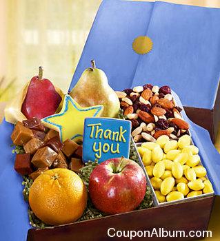 fresh fruit-sweets gift box