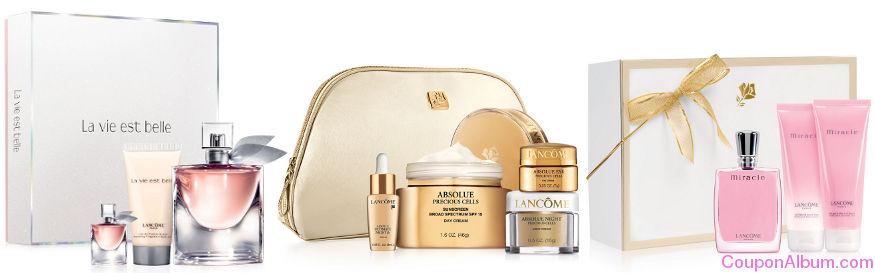 lancome beauty gift sets