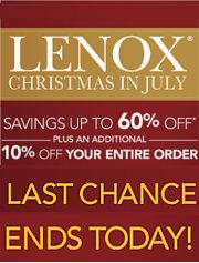 lenox sale