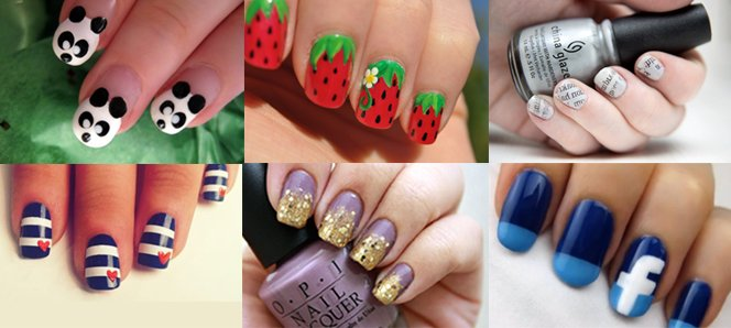 Hottest nail art designs Cool nail design ideas at home