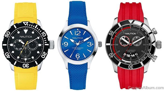 nautica summer watches