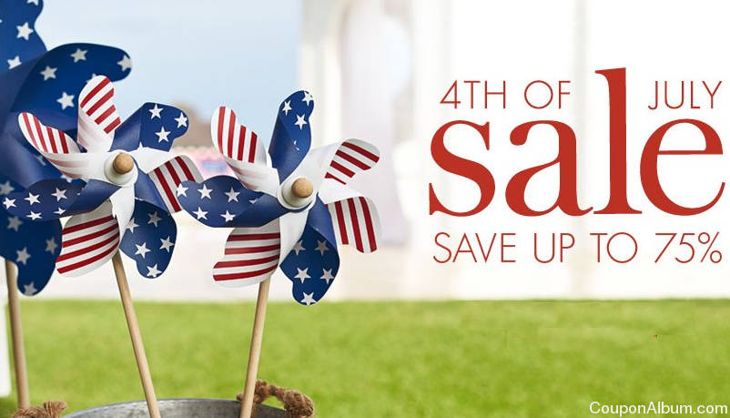 pottery barn kids 4th of july sale