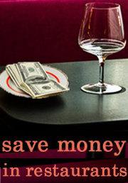 save on restaurant bills