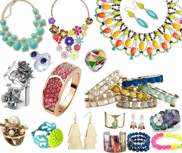 summer jewelry trends 2013