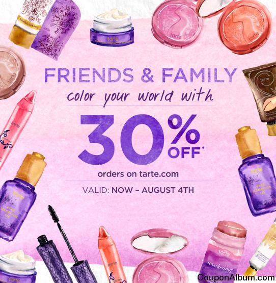 Tarte online coupons