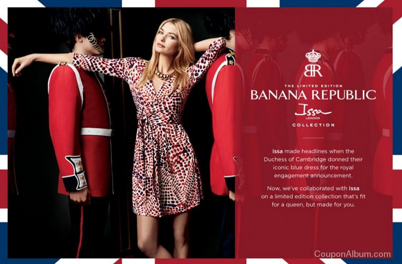 banana republic issa collection
