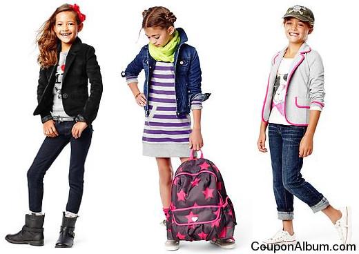 gap back to school