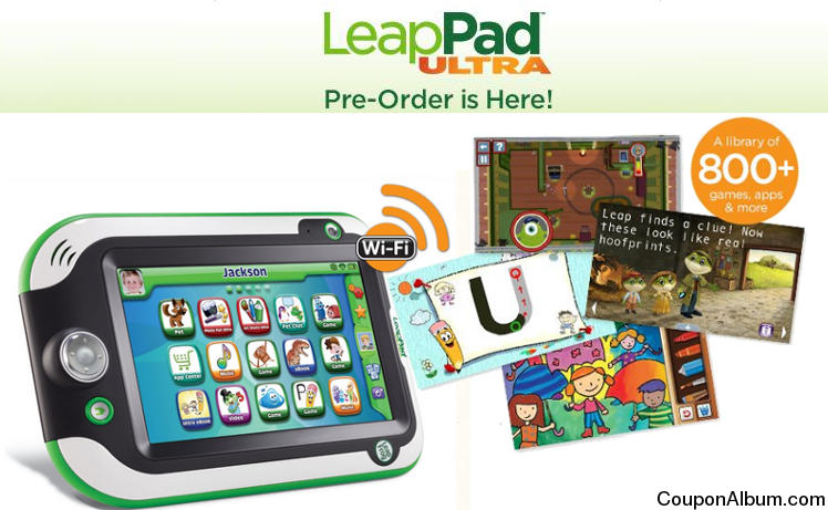 Pre-Order LeapFrog LeapPad Ultra Learning Tablet at Barnes & Noble