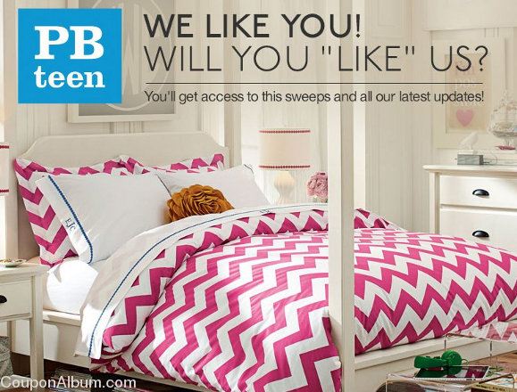 pbteen facebook sweepstakes