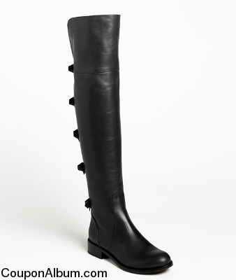 valentino bow over the knee boots