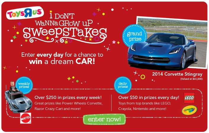toysrus instant win game sweepstakes