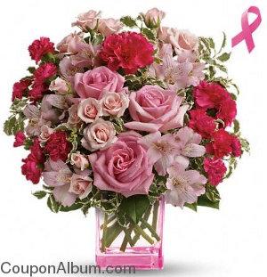 teleflora pink grace bouquet