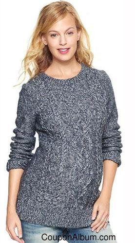Lurex-Metallic-Cableknit-Sweater