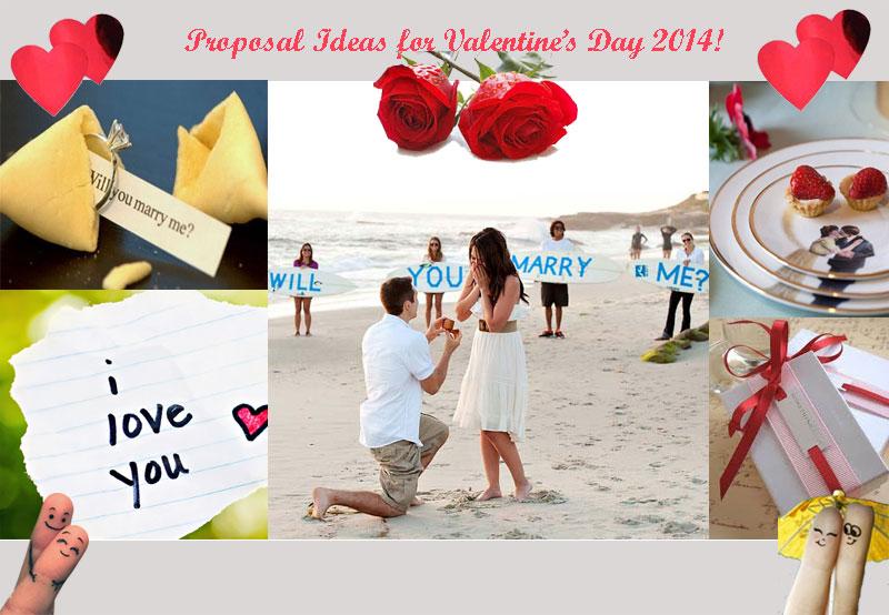 Valentine's Day Proposing Ideas