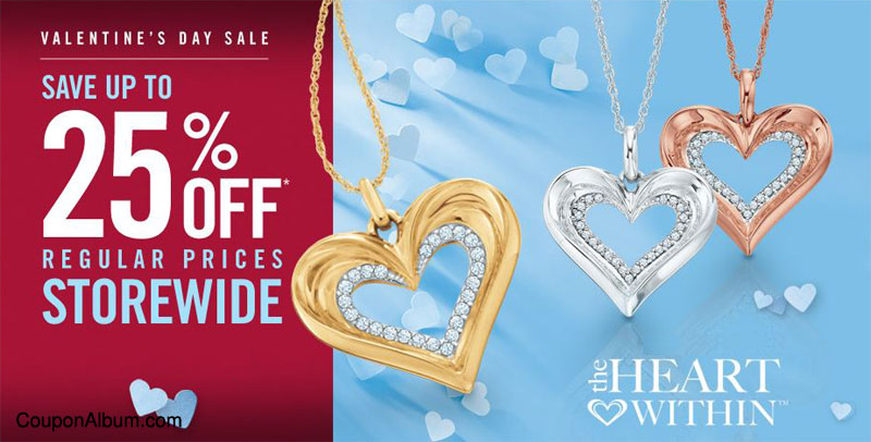 Zales Valentines Day Sale Up To 25 Off Online