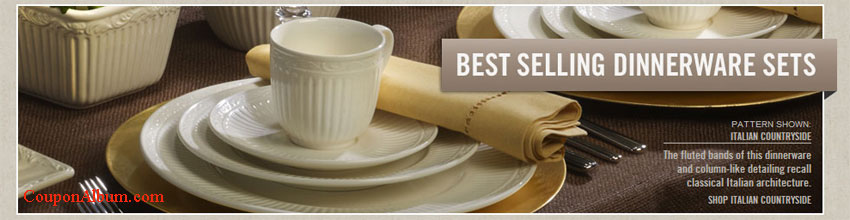 Mikasa.com Offer & Mikasa Offer u2013 Up to 70% off Best Selling Dinnerware! | Online ...
