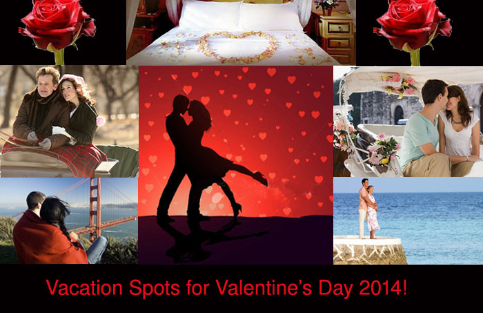 Travel Destinations for Valentine's Day 2014