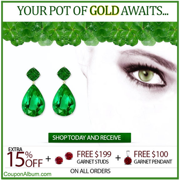 Angara St. Patrick's Day Offer