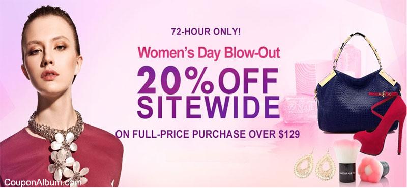Milanoo.com Women's Day Offer