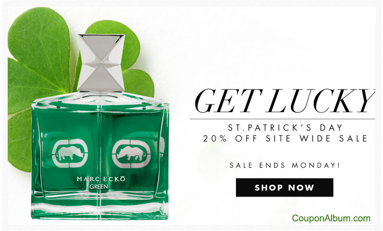 Perfumania St. Patrick's Day Offer