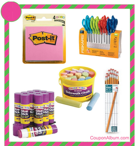 Discount School Supply Deals
