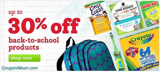 Drugstore Back-to-School Offer